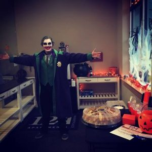124 Marketplace Apartments in West Chester Halloween Open House